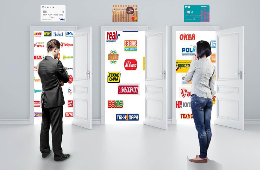 магазины партнеры карт рассрочки